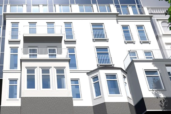 Fassadenarbeiten Hannover Foto